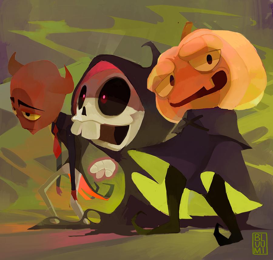 Halloweeny by bluumi
