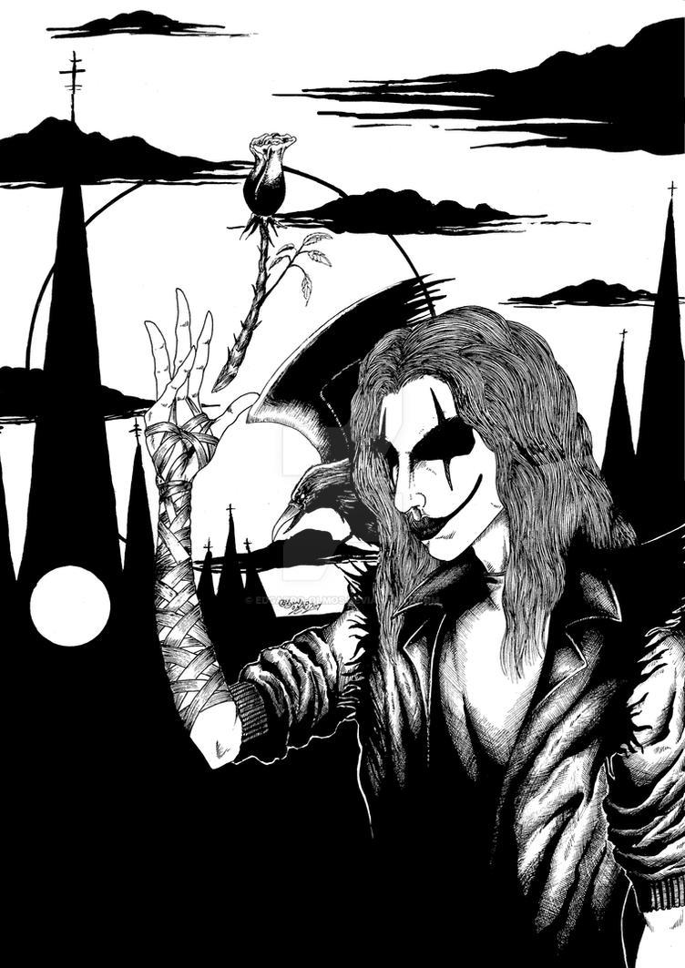 The Crow 1 by Edgardo-Olmos