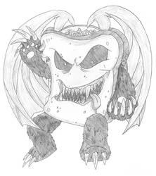 Nightmare Pandwich by pinksalmun
