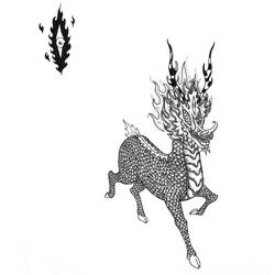 Transdimensional Deer by innocentII