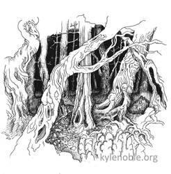 Meiklemoss Wood by innocentII