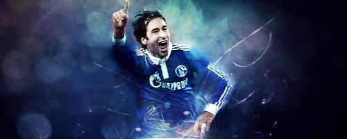Raul Madrid , Schalke O4 by tedioart