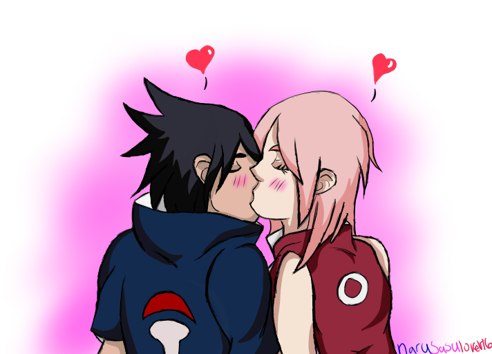 SasuSaku: Kissing 4 The First Time by narusasulover16