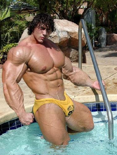 голые культуристы мужчины фото