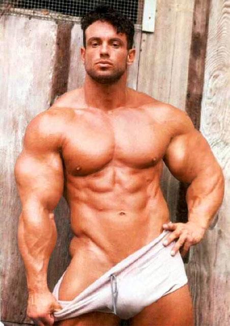 Bodybuilder in White Trunks by Stonepiler on DeviantArt