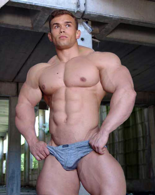 One bodybuilders monster cock threesome fat cock. I'd