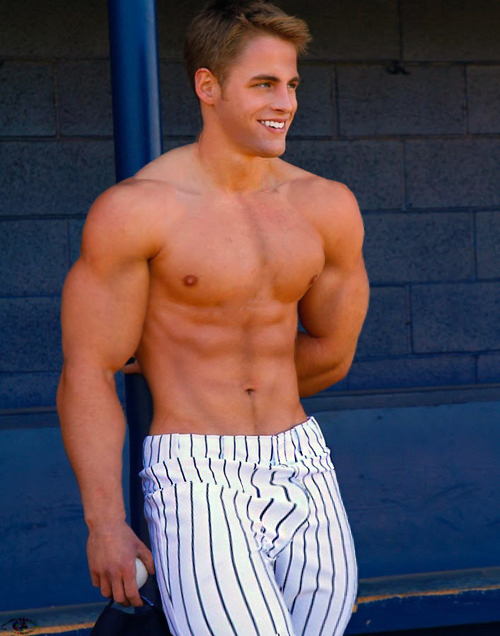 Sexy Baseball Player 10