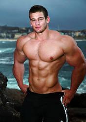 Hot Shirtless Guy 21 by Stonepiler