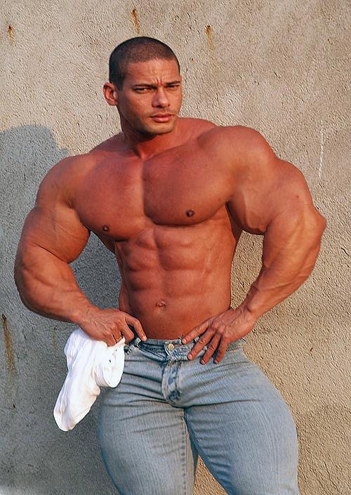 Jeans guy 15 by stonepiler on deviantart - Stonepiler bodybuilder ...