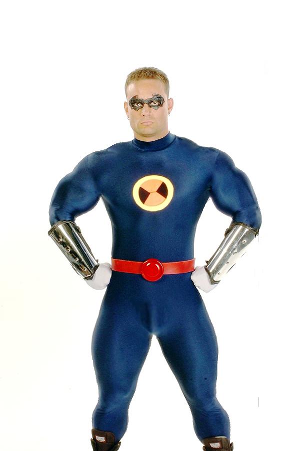 blue super heroes