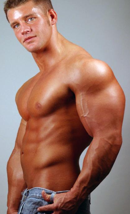 Hot Shirtless Guy 130 by Stonepiler