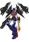 Optimus Prime V2 COLOURED