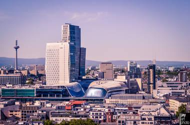 Skyline Frankfurt am Main Germany