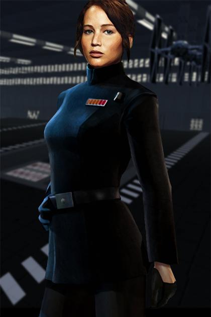 Jennifer Lawrence in Star Wars VII by hk-1440