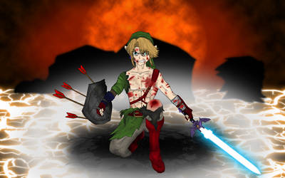Rage of the Hylian by hk-1440
