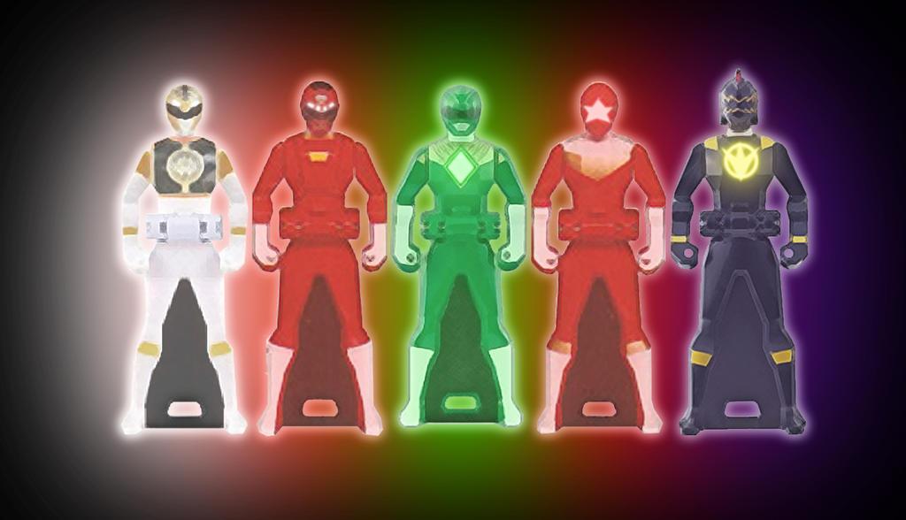 Super Megaforce Ranger Keys: Team Tommy by hk-1440