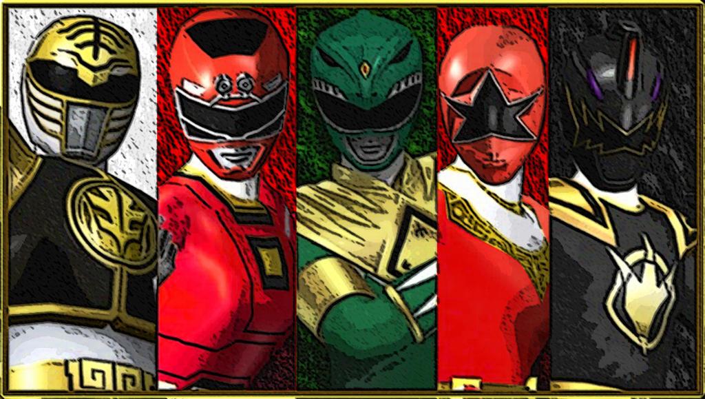 Super Megaforce Team Tommy by hk-1440