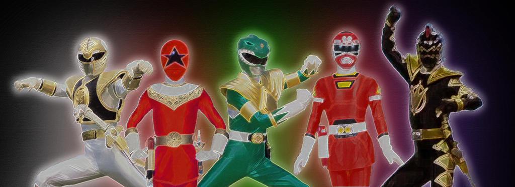 Super Megaforce morphs into Team Tommy by hk-1440