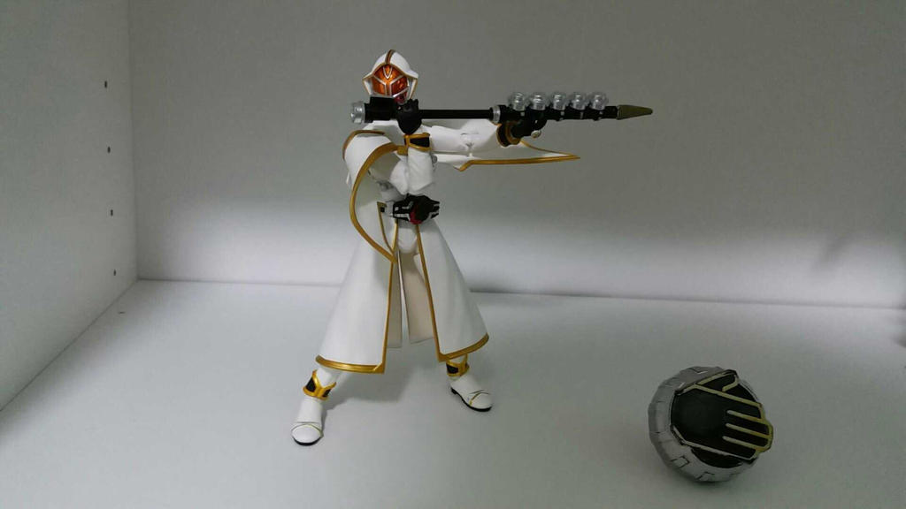 White Wizard with Hamel Cane by hk-1440