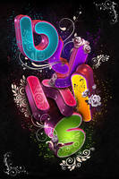 Style text 3D by youesey