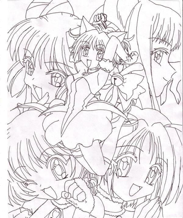 tokyo mew ichigo coloring pages - photo#37