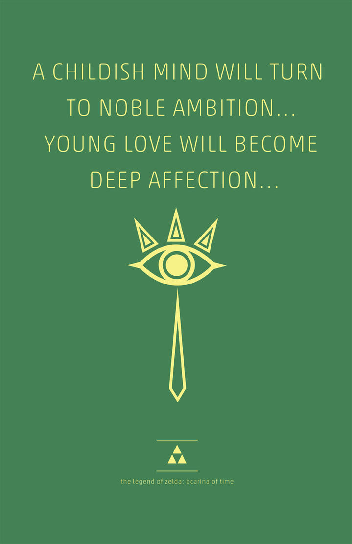Zelda Quotes Pleasing Ocarina Of Time Quote Series Sheikcreampuffy On Deviantart