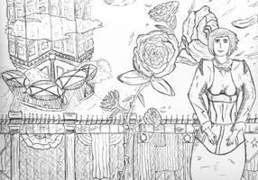 Elizabeth: Bioshock Infinite by DarkAp