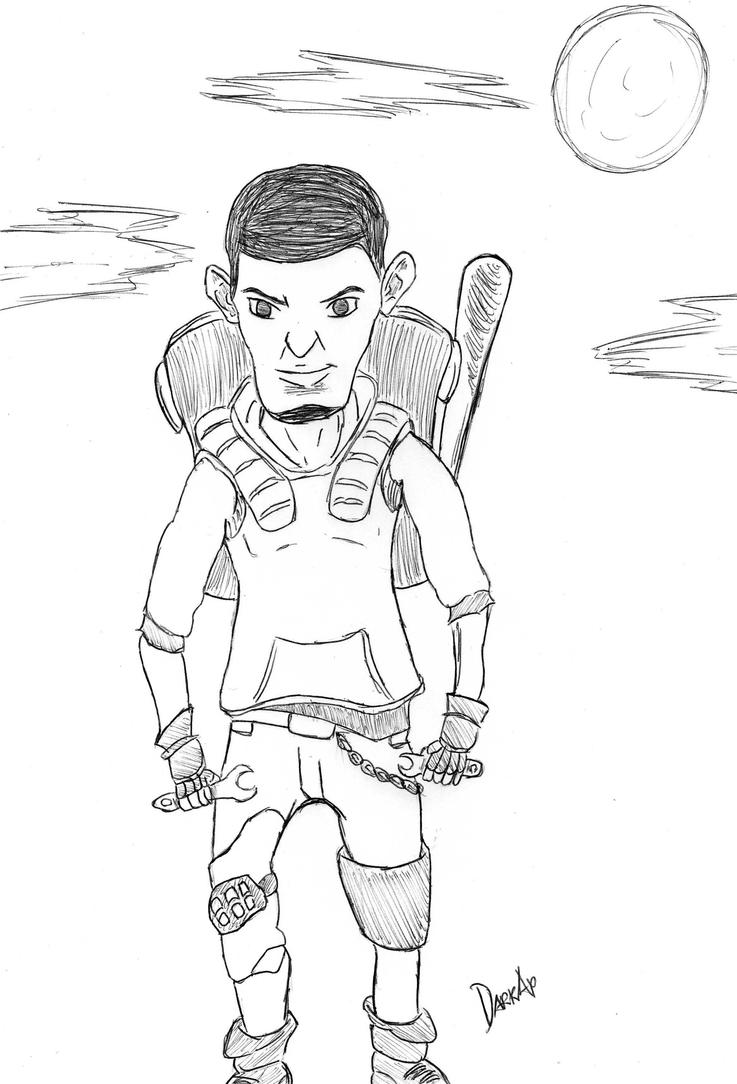 bad ass coloring pages - fortnite heroes are coming by darkap on deviantart