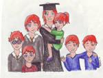 Bill's Graduation