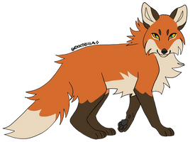 fox by GEKKOZILLA