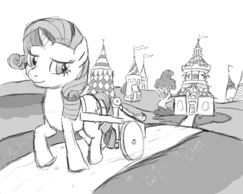 ATG V Day 2 - Rarity Moving by pageturner1988