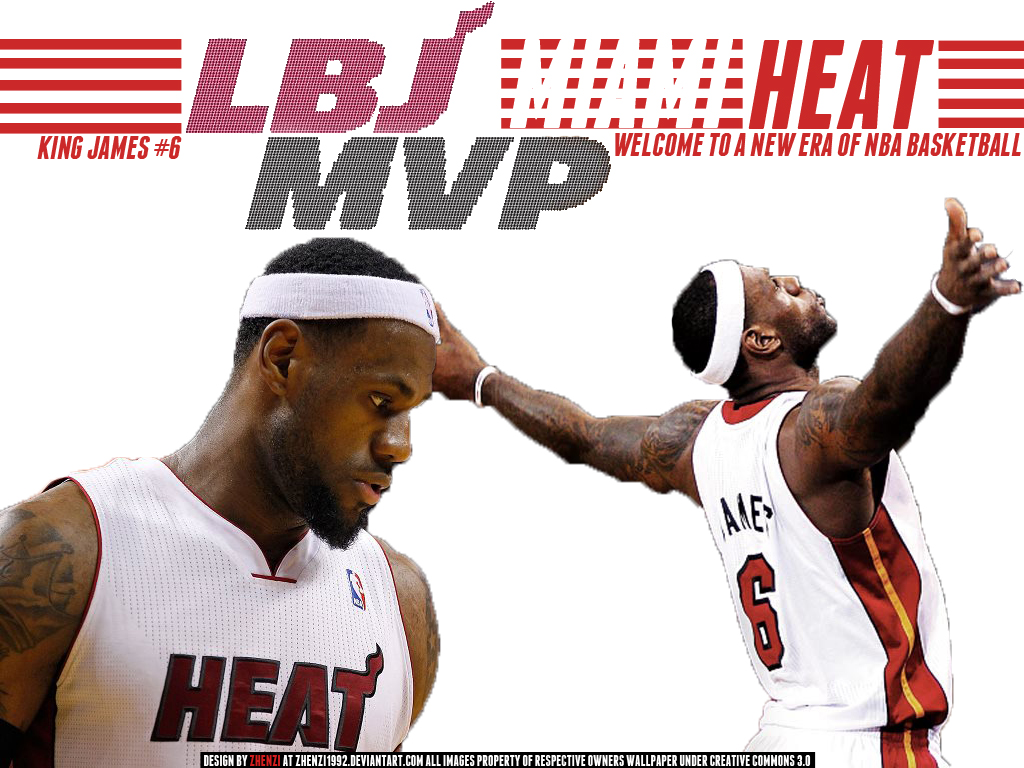 Lebron James 2012 MVP Wallpaper - 477.1KB