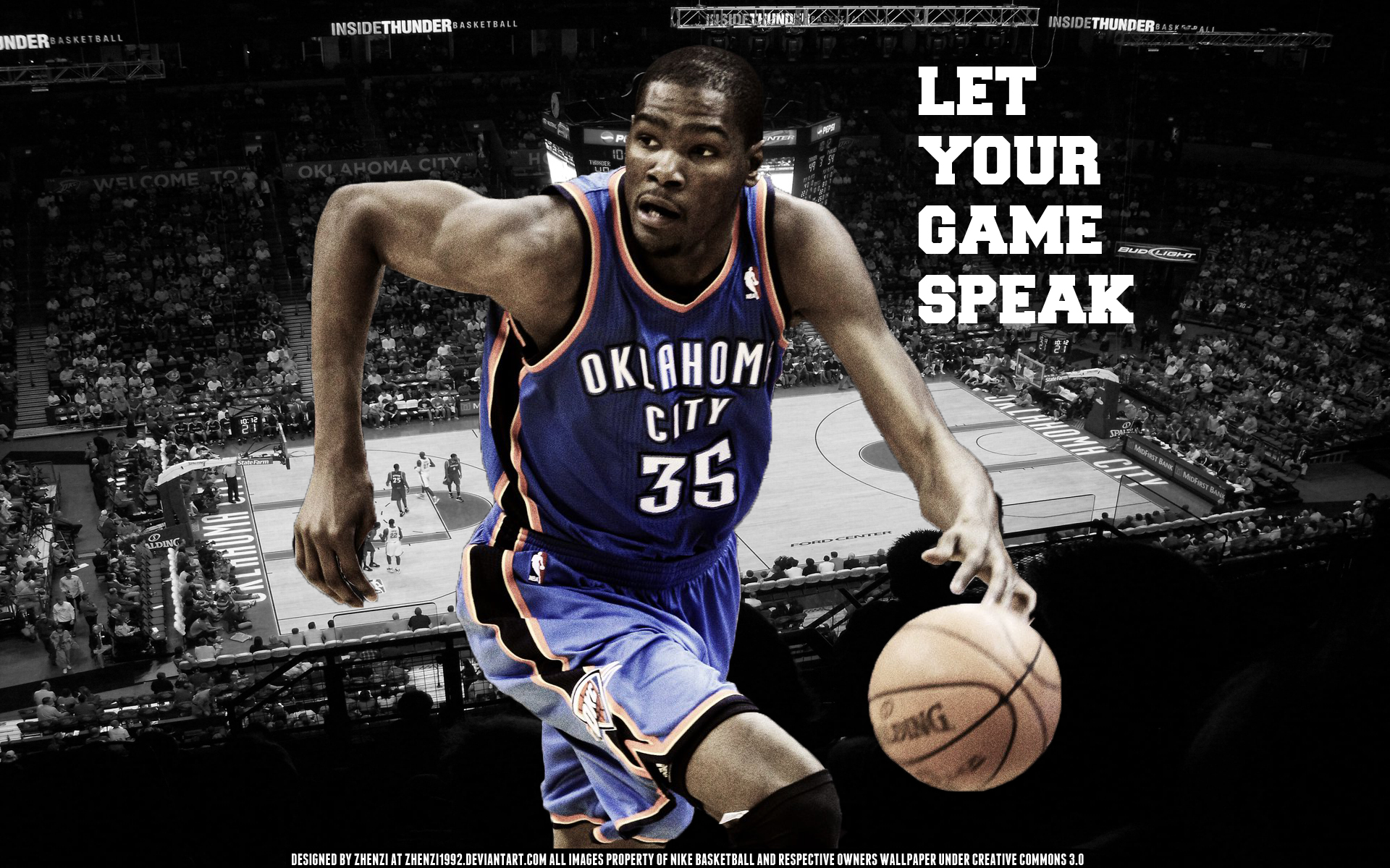 Kevin Durant Wallpaper Desktop Wallpapers 1920x1200