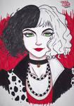 Cruella Devil by LaurieLisboa666
