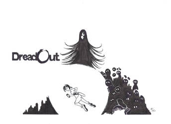 My DreadOut Fan Art by JohnMoogle
