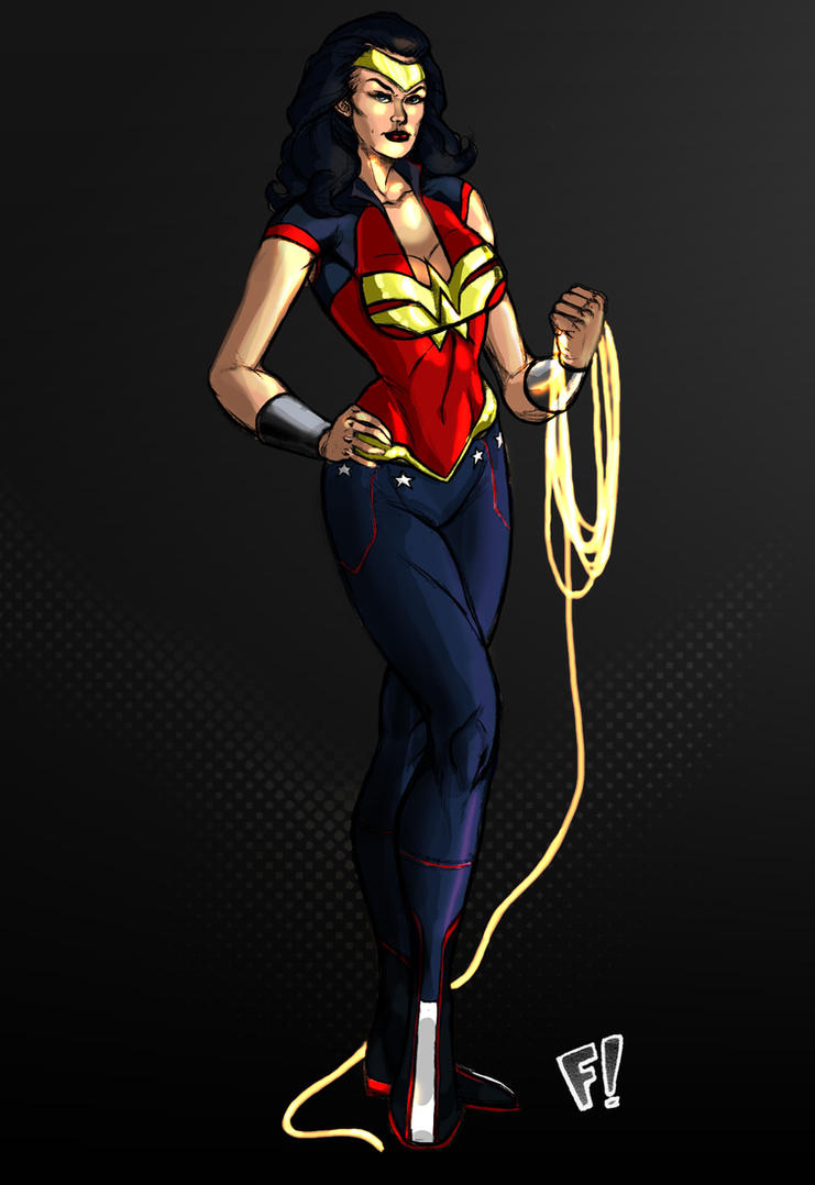 Wonder Woman Redesign by CJ-Williams