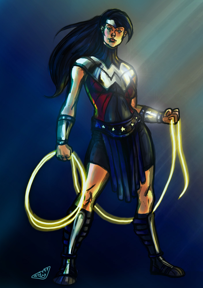 SHoM Wonder Woman Redux by CJ-Williams
