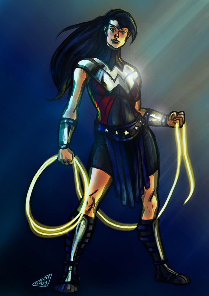 SHoM Wonder Woman Redux by CJ-Williams