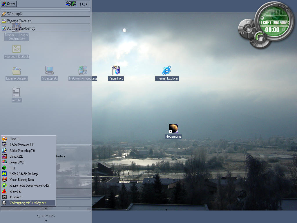 masdas winter desktop by masda