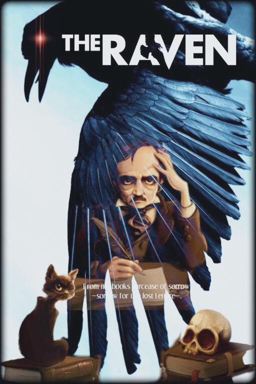 Edgar Allen Poe's, The Raven by Tasteofbloodwine
