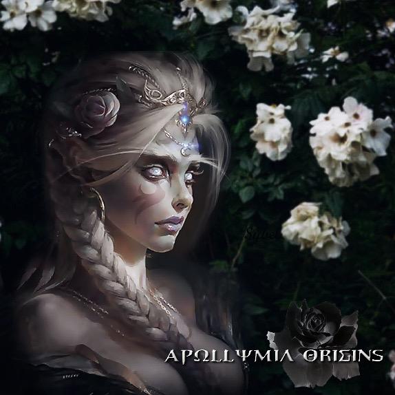 Goddess Apollymi Origins by Tasteofbloodwine