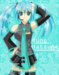 Runo's Cosplay: Miku Hatsune