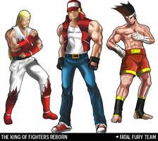 Fatal Fury Team by DarroldHansen