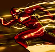 Quicksketch - The Flash by DarroldHansen