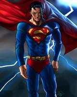 Superman by DarroldHansen