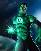 Green Lantern Hal Jordan by DarroldHansen