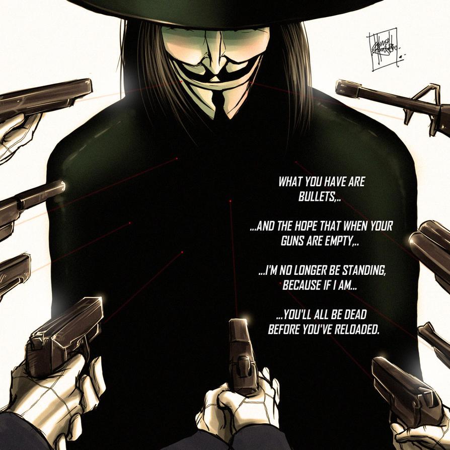 V For Vendetta Quotes V For Vendettadarroldhansen On Deviantart