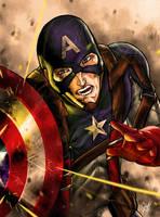 Captain America by DarroldHansen
