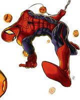 Spider-Man Dodging by DarroldHansen
