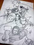 The Avengers by DarroldHansen